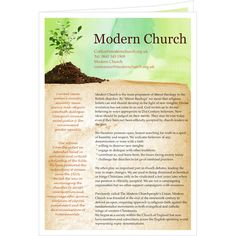 Bible Church Newsletter Design Template by StockLayouts I like the ...