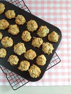 Toddler Food: Zucchini & Pear Mini Muffins