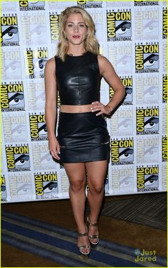 Emily Bett Rickards at #Arrow Comic-Con 2015