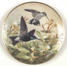 Franklin MintBirds of The Country: Hummingbird - Artist: A. J. Rudisill