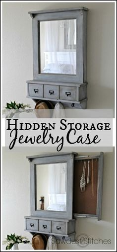 DIY: Jewelry Case tutorial from SAwdust2stitches.com