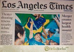 A matéria do nosso cliente, Special Olympics Brasil, foi destaque na primeira página do jornal norte americano Los Angeles Times. Agradecemos, também, os jornalistas Ancelmo Gois e Tiago Rogero pela publicação na coluna do jornal O Globo.