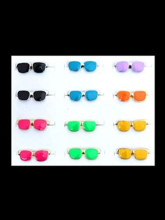AR0034 Fashion assorted sunglasses adjustable ring