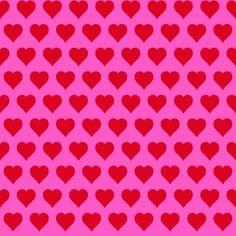 Esta Love 136815 Hearts red & pink