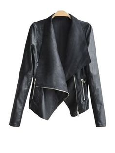 SHARE & Get it FREE | Zippered PU Leather JacketFor Fashion Lovers only:80,000+ Items • New Arrivals Daily Join Zaful: Get YOUR $50 NOW!