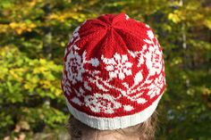 Lovely, detailed flowers and roses adorn this hand knit fair isle hat. The hat is knit with extra soft, fine yarn, making it both cozy and lightweight. 85% Acrylic, 15% Nylon super fine yarn https://www.etsy.com/listing/570201153/rose-patterned-hat-hand-knit-hat?ref=shop_home_active_4