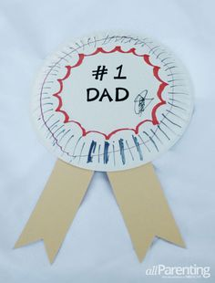 World's Best Dad Father's Day award #craft