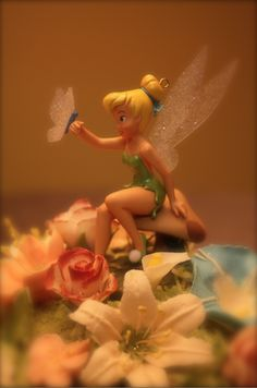 Image detail for -Tinkerbell Cake Topper Petel