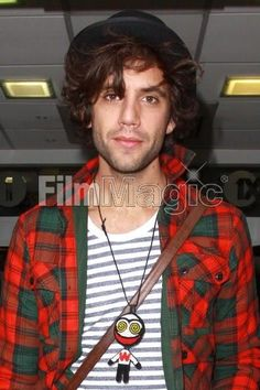 Mika coming out of BBC's Maida Vale Studios September 29, 2009