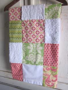patchwork quilt.  love the colors, fabrics, textures and prints