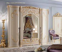 Cheapest Furniture Market In Kolkata Bedroom Design, Wooden Wardrobe, Luxury Furniture, Closet Decor, Royal Furniture, Furniture, Italian Furniture, Classic Bedroom, Home Decor
