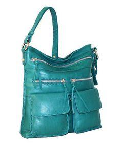 This Nino Bossi Handbags Petrol Stroll Around the Town Crossbody Bag by  Nino Bossi Handbags is 38177b06b989e