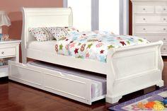 Serena Sleigh Bed