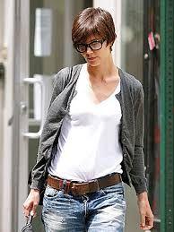 「katie holmes short hair 2009」の画像検索結果