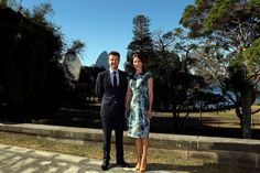 Crown Prince Frederik & Crown Princess Mary in Sydney, Australia, 24 October 2013.