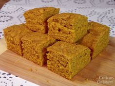Pumpkin Cornbread | @CCuisiniere Looks good! Bet I could sub in my #gf flour blend and make it work!