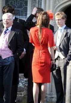 On 17 April Kate Middleton And Prince William Attended The Wedding Of David Jardine Paterson Emilia D Erlanger