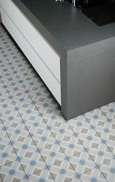 Decor carrelage neocim carreaux ciment 20x20 cubique for Carrelage kerion