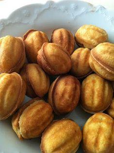 Mutfakkolik: Ceviz Kurabiye Jam Recipes, Appetizer Recipes, Great Recipes, Soup Recipes, Cookie Recipes, Russian Cookies, Coconut Flan, The Kitchen Food Network, Walnut Cookies