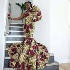 Here are 70 Pictures of currently trending Ankara styles in We give Kudos to the exceptional stylists, and designers who put together these lovely pieces. Modern Ankara Styles in Vogue African Maxi Dresses, African Wedding Dress, Latest African Fashion Dresses, Ankara Dress, African Print Fashion, African Attire, Prom Dresses, African Prints, Ankara Gowns