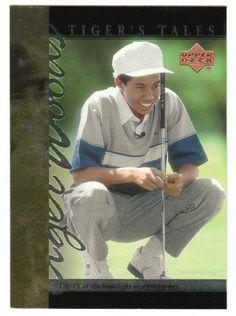 Tiger Woods # TT-3 - 2001 Upper Deck Golf Tiger's Tales