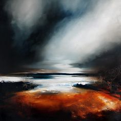 Paul Bennett London, UK With global representation, international fine artist Paul Bennett specializes in contemporary semi-abstract seascapes and landscapes and also distinctive portraiture. Landscape Art, Landscape Paintings, Fine Art, Contemporary Paintings, Oeuvre D'art, Painting Inspiration, Paul Bennett, Amazing Art, Modern Art