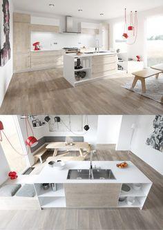 Diseño de cocina moderna sencilla