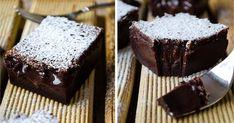 """Tento recept je pre všetkých čokoholikov, ktorí si občas doprajú aj niečo """"nezdravé"""" no magické! Všetky maškrtné jazýčky sa budú oblizovať a potom spokojne odfukovať. Thing 1, Something Sweet, Pound Cake, No Bake Cake, Chocolate Cake, Sweet Recipes, Recipies, Cooking Recipes, Magick"""