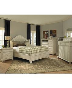 paula deen bedroom furniture sets & pieces, steel magnolia tobacco