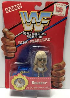 (TAS033940) - 1997 Titan Sports WWF Official Wrestling Ring Masters - Goldust