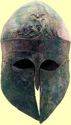 Greek Helmet    http://www.uh.edu/engines/epi1941.htm