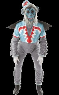 Terrifying Wizard of Oz Flying Monkey Costume in time for Halloween