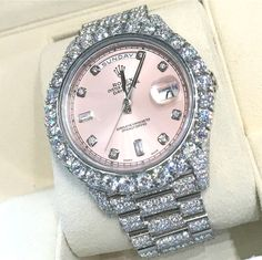 Image about watch in luxury😍💎💰 by Kseniya on We Heart It Cute Jewelry, Jewelry Accessories, Moda Formal, Fashion Jewelry, Women Jewelry, Diamond Are A Girls Best Friend, Mode Style, Luxury Jewelry, Fashion Watches