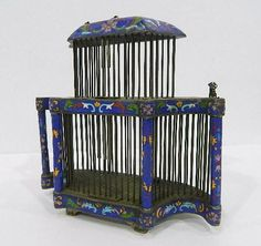 Buy online, view images and see past prices for A Large Two Storey Cloisonné Cricket Cage, with impressed mark to base,. Invaluable is the world's largest marketplace for art, antiques, and collectibles.