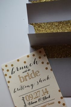 Brunch with the Bride Printable Customized by TheSubtleStatement