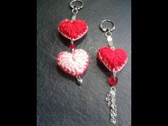 ▶ Como tejer un corazon al crochet para hacer un llavero// Tejemos?! - YouTube