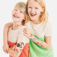 TATTLY!!! Tattly is a favorite in our store without a doubt...not to mention we like to cover ourselves up in fake tattoos as much as the kids that come in here!