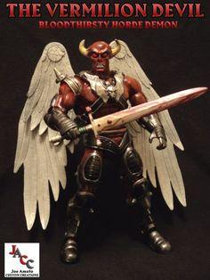 The Vermilion Devil Masters of the Universe Classics custom (Masters of the Universe) Custom Action Figure