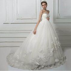 Flowered Maternity Wedding Dress