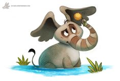 Daily Painting 906# On the Fifteenth of May... by Cryptid-Creations