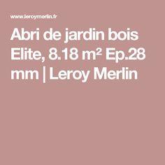 Salon de jardin - Leroy Merlin | Garten | Pinterest
