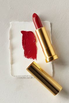 """for the perfect red lip try, """"vermillion"""" #anthrofave"""