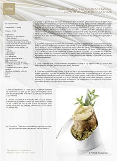 Lenôtre - Râble de Lapin à la Moutarde d'Orléans, Risotto de Quinoa et Fleur de Brocoli http://www.lenotre.com/