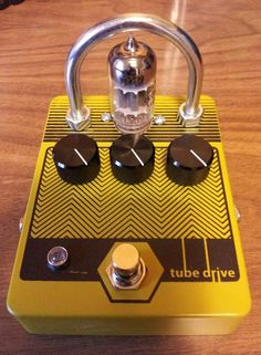 Sunshine Vapor Effects, Tube Drive, overdrive pedal.