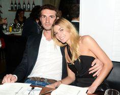 Jessica Hart with her Greek socialite boyfriend Stavros Niarchos