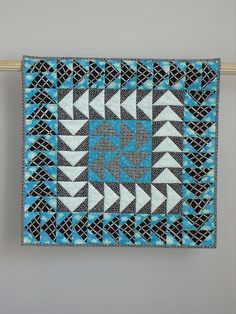 Weather Or Not wall quilt by tinacurran on Etsy, $500.00