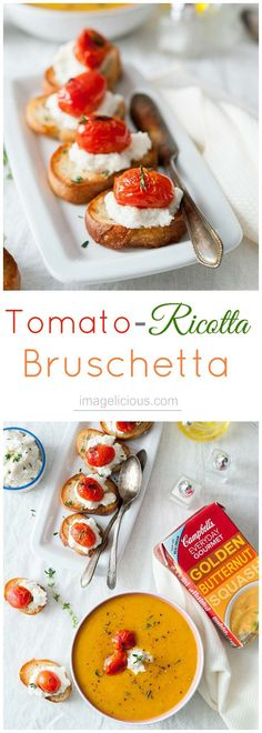 Tomato-Ricotta Brusc