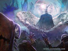 Metal Tidalwave-Magic The Gathering by jason-felix on DeviantArt