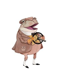 gentleman frog