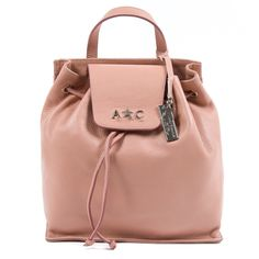 053cace803f0 Andrew Charles Womens Handbag Pink KYLE. Calf Leather, Leather Backpack ...